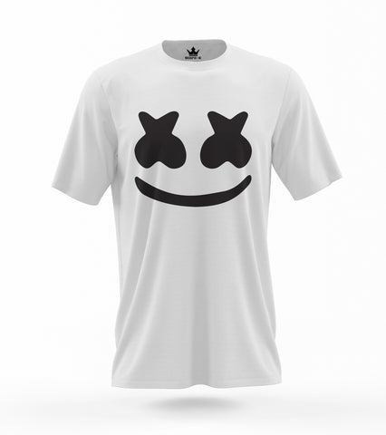 T-Shirt Marshmello Mask