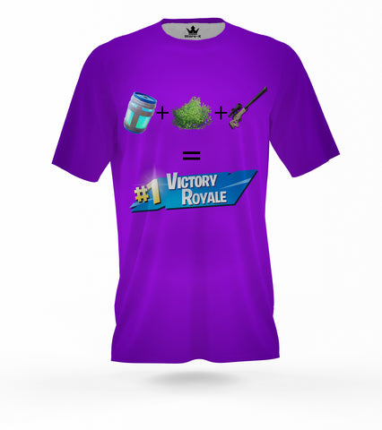 T-Shirt Battle Royale VICTORY allover