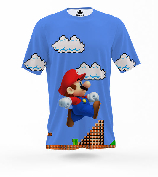 T-Shirt super mario Bross 3d