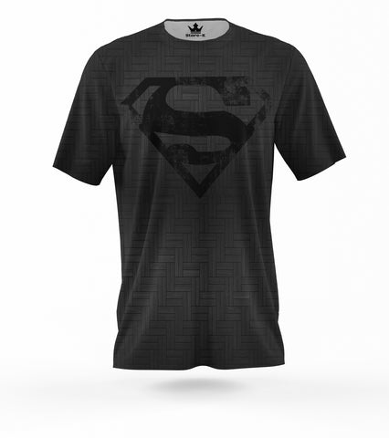 T-Shirt Superman  3D Royal
