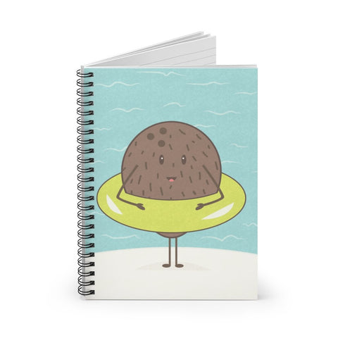 Coconut Spiral Notebook