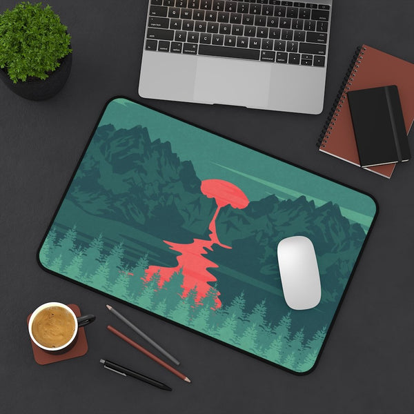 Mountain Landscape Desk Mat - Home Decor - Imagonarium