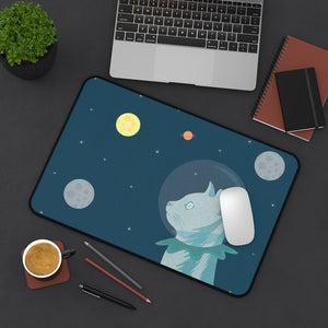 Space Cat Desk Mat - Home Decor - Imagonarium