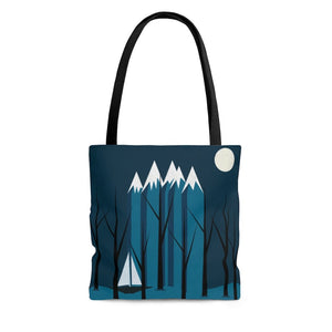 Blue Sailing Tote Bag