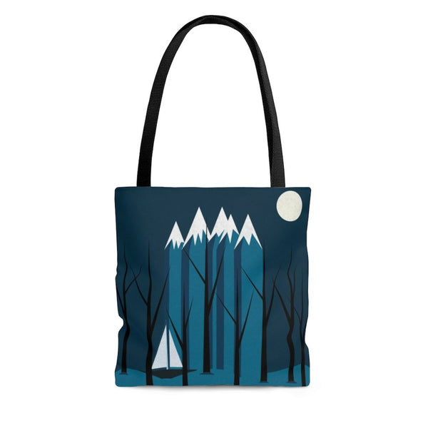 Blue Sailing Tote Bag - Bags - Imagonarium