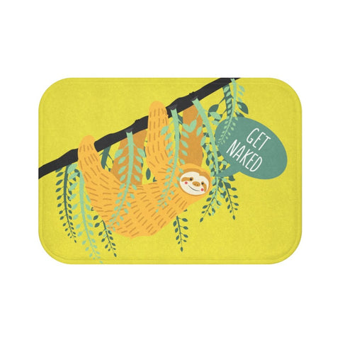 Get Naked Sloth Bath Mat
