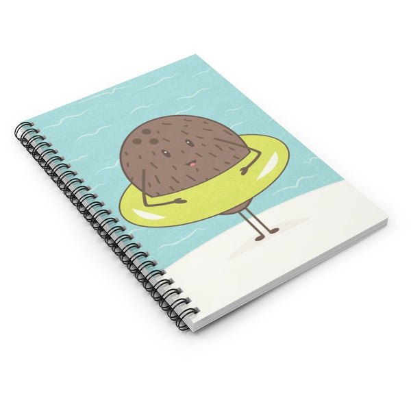 Coconut Spiral Notebook - Imagonarium