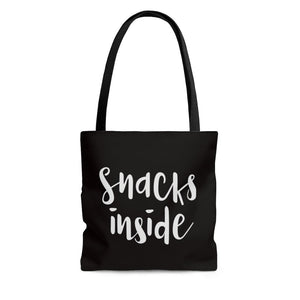 Snacks Inside Tote Bag - Imagonarium