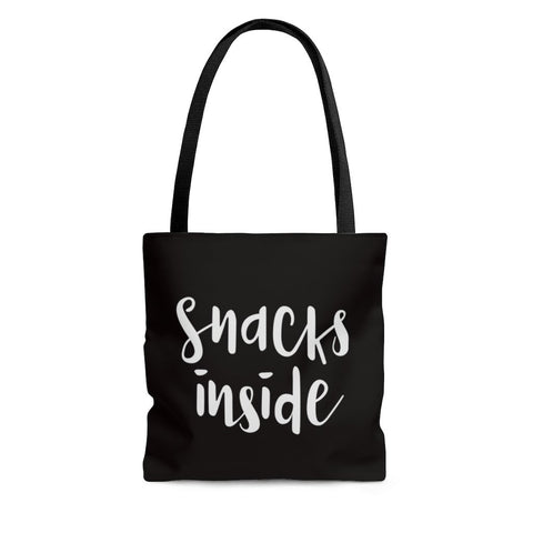 Snacks Inside Tote Bag - Bags - Imagonarium