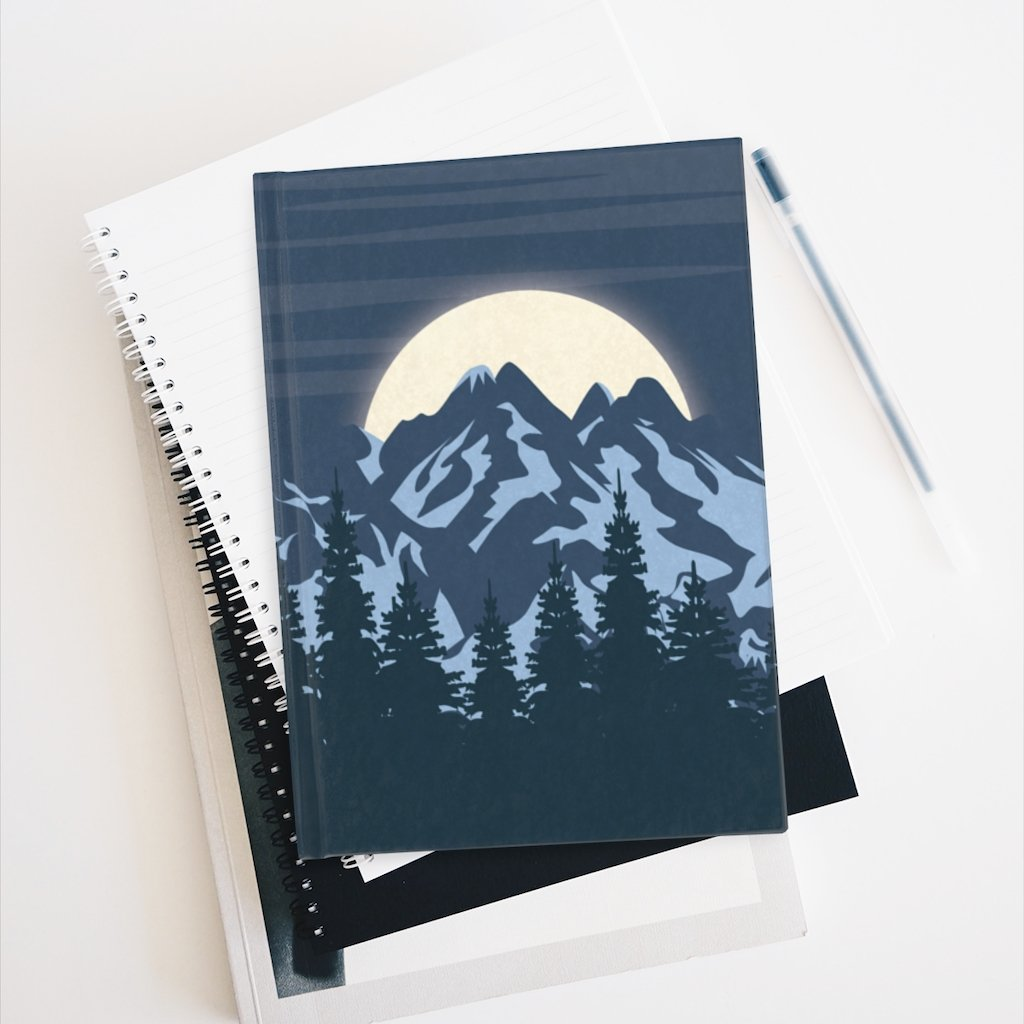 Blue Moon Journal - Paper products - Imagonarium
