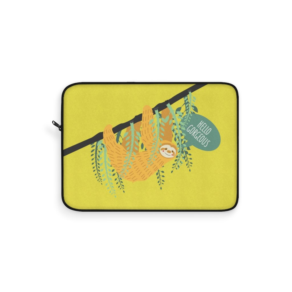 Funny Sloth Laptop Sleeve - Laptop Sleeve - Imagonarium