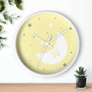 Yellow Nursery Wall Clock - Home Decor - Imagonarium