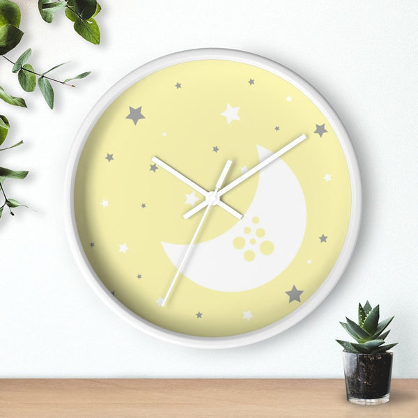 Yellow Nursery Wall Clock - Imagonarium