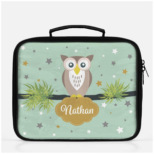 Personalized Owl Lunch Box for Kids -  - Imagonarium