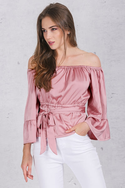SkyFella Store Blouses Carla Apparel Sexy Off-the-Shoulder Ruffles Blouse