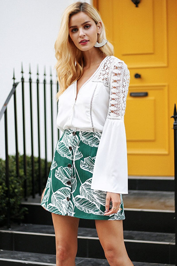 Lindsay Fresh Tropical Skirt