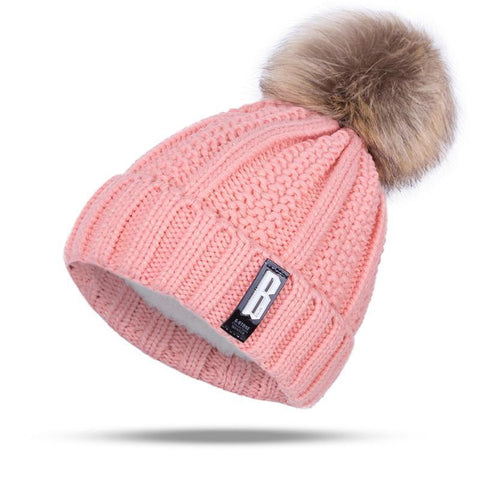 Pom Poms Winter Hat for Women