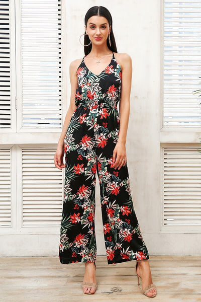 SkyFella Store Jumpsuits & Rompers June Tropical Boho Jumpsuit