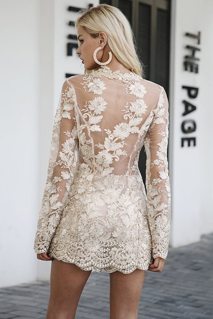Loise Sparkling Beauty Romper