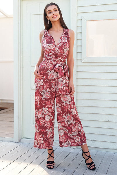 SkyFella Store Jumpsuits & Rompers Ruth Cherry Blossom Jumpsuit