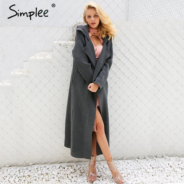SkyFella Store Outerwears Lexy Paris Chic Long Coat