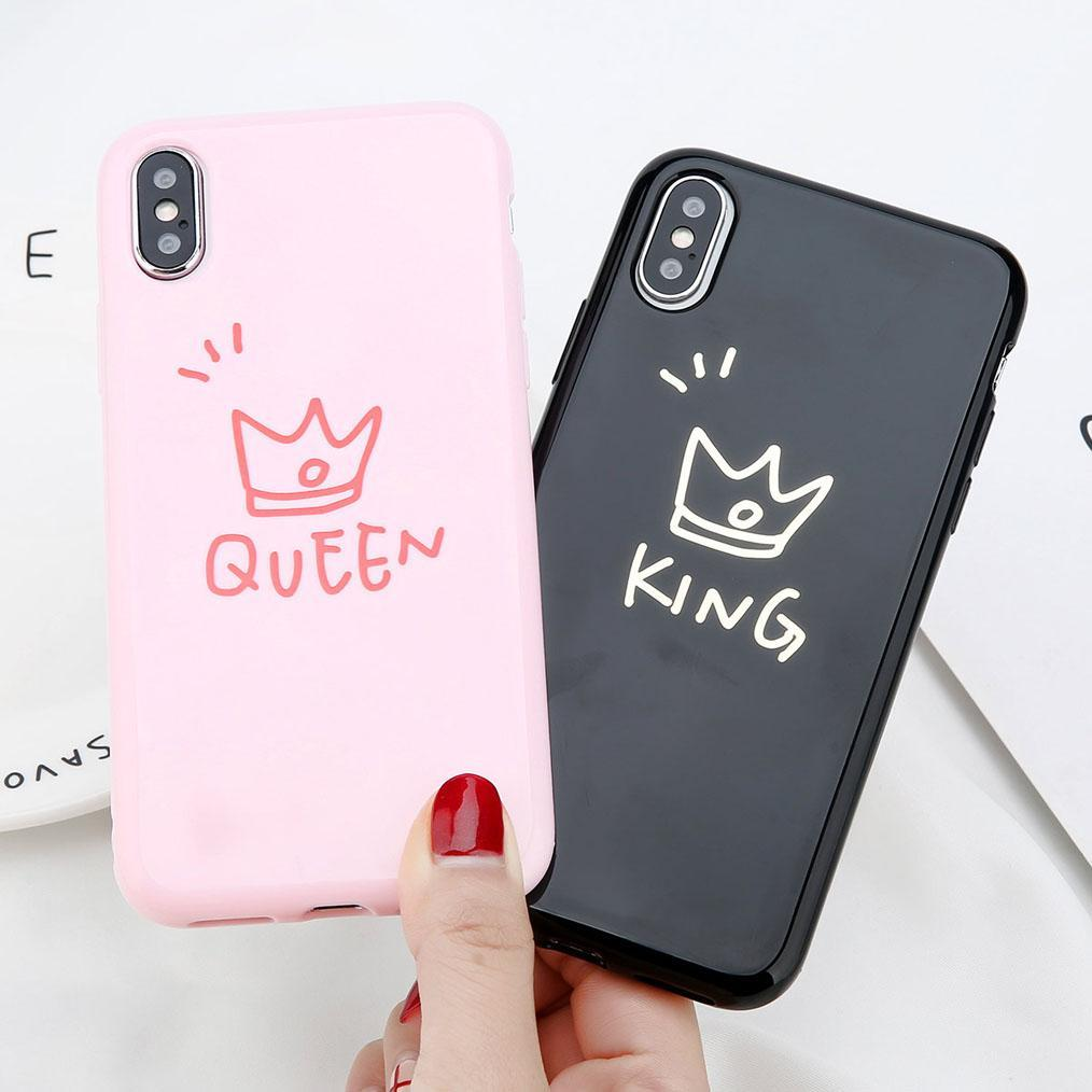 promo code ca79b 1a311 King & Queen Couple Case
