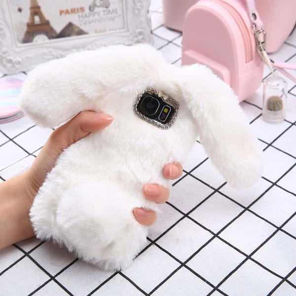 Cute Bunny Fur Case