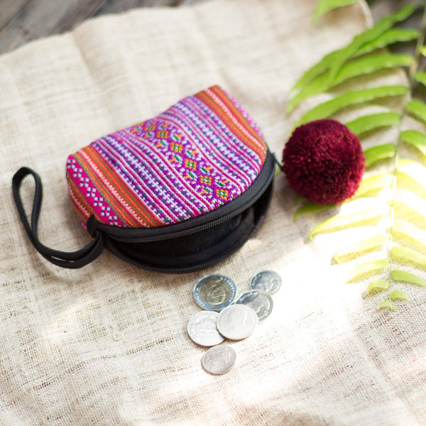 SkyFella Store Shoes & Bags Hephah Pom Pom Coin Purse
