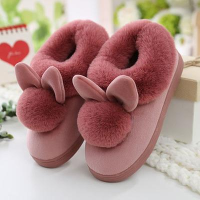 Lovely Rabbit Ears Slippers