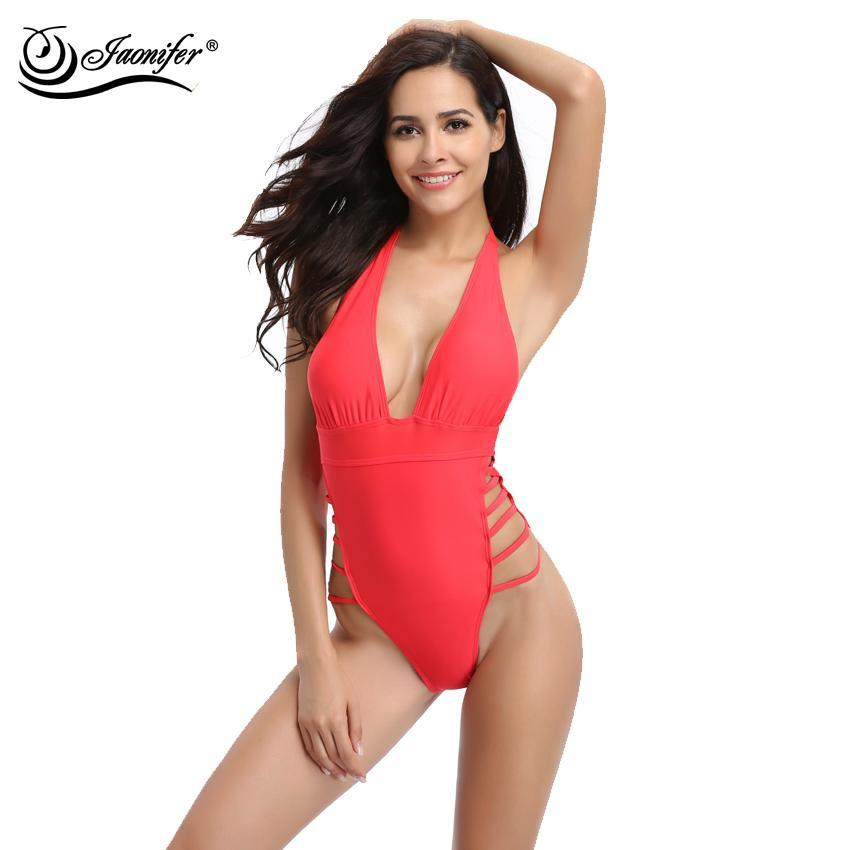 Margaret Sexy Halter Neck Swimsuit