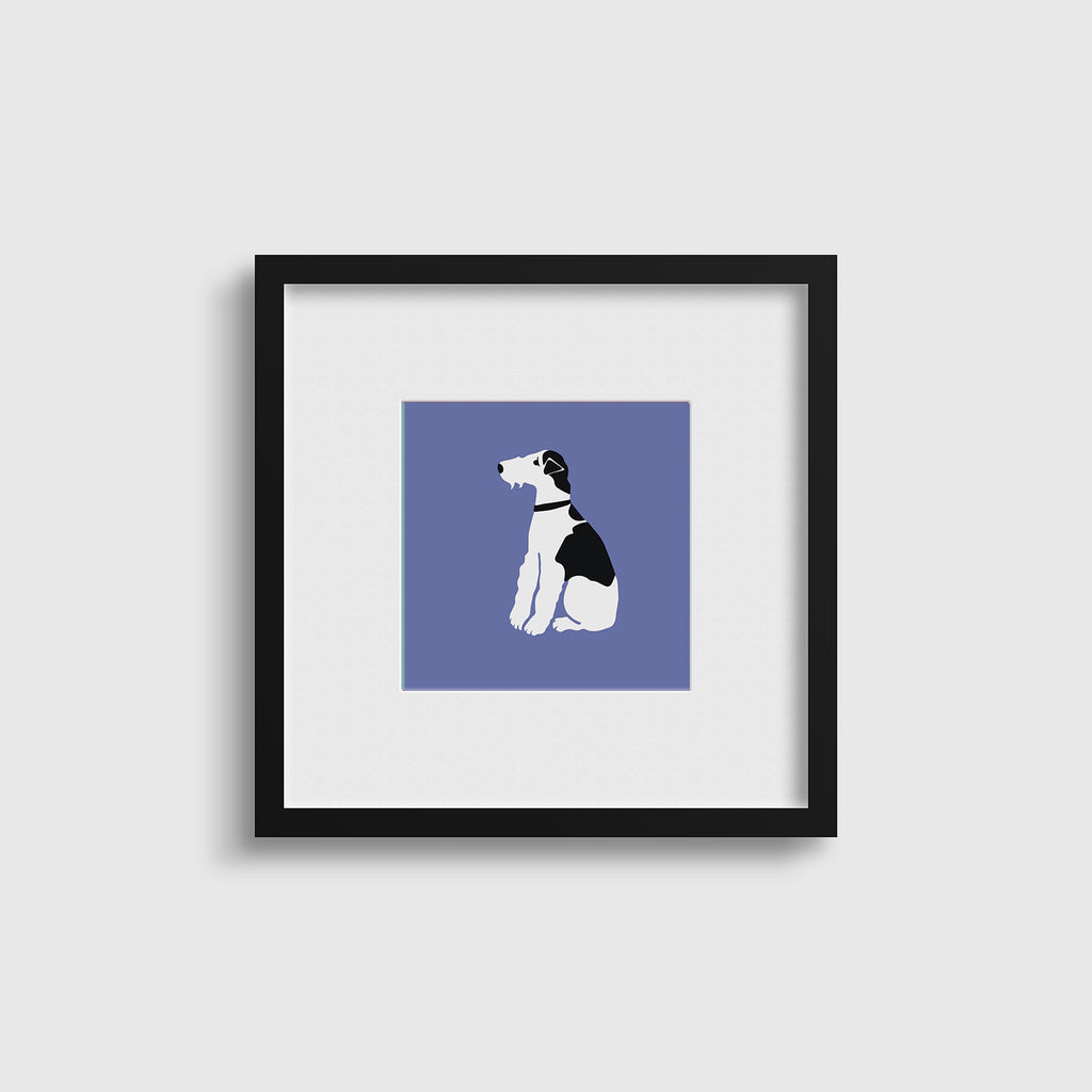 Wire Fox Terrier - Pop Art Inspired Print Set x4