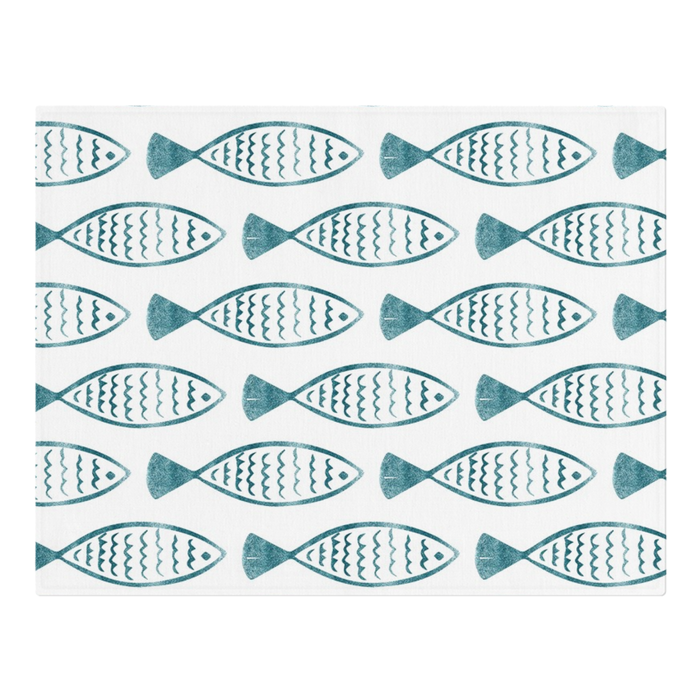Fishy Design Placemats x6