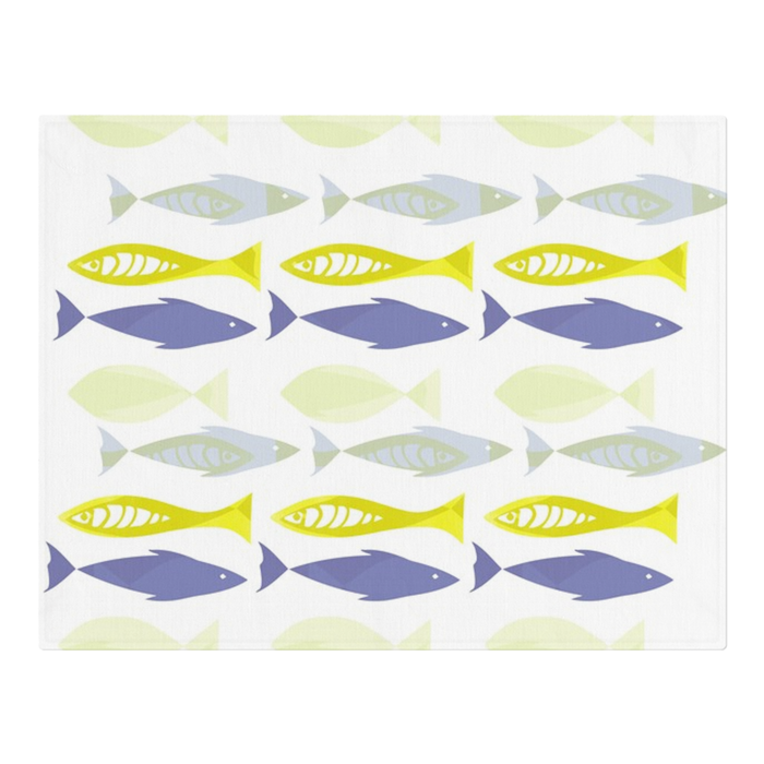 Swimming Fish Placemats x6