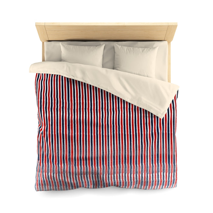 Contemporary Pinstripe Duvet Cover
