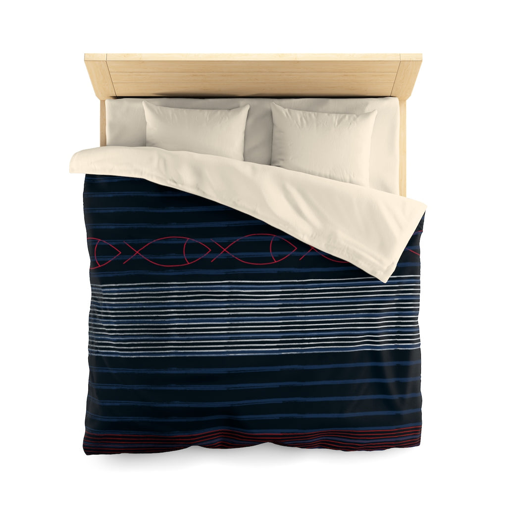 Gentleman Stripe Duvet Cover
