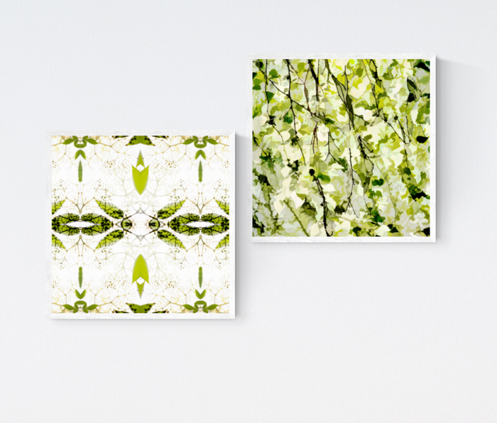 Scottish Spring Prints x2