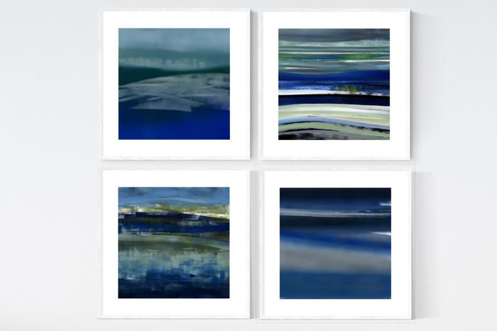 Scottish Loch Breeze Print Set x4