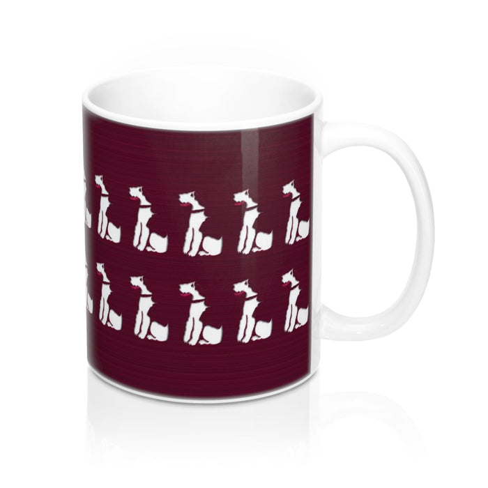 Graphic Fox Terrier Mug 11oz