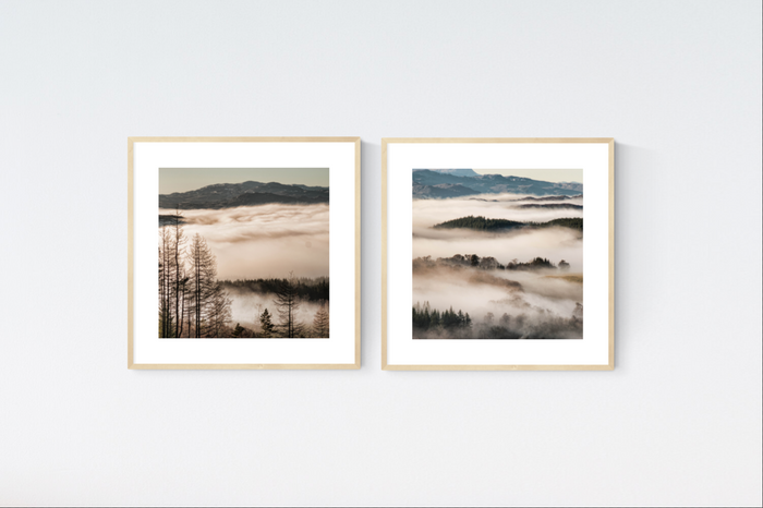 Scottish Mist Prints x2