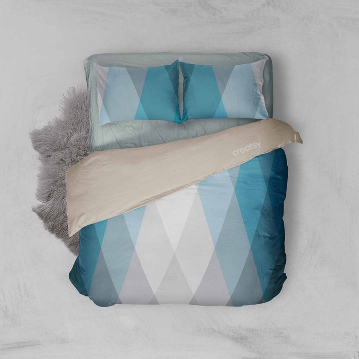 Diamond Patchwork Duvet Set