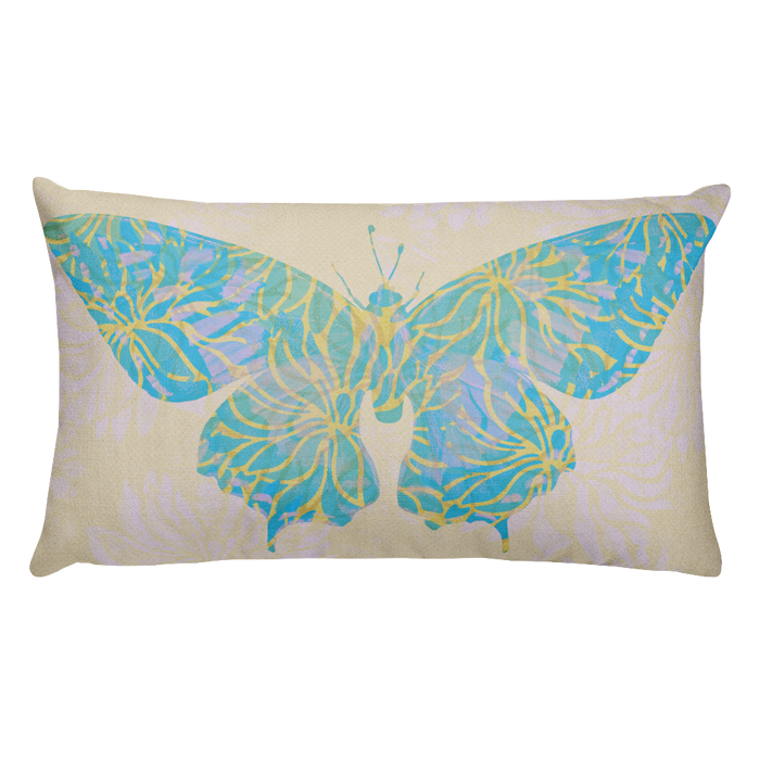 Summer Butterfly Cushion