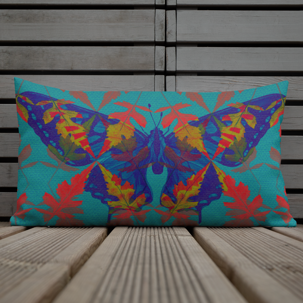 Colourful Beastie Cushion