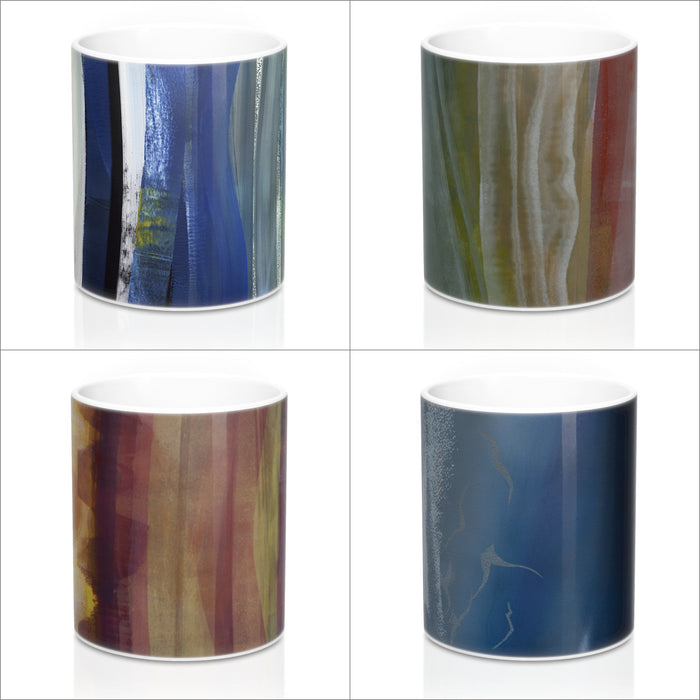 Scottish Landscape Art Mug Set