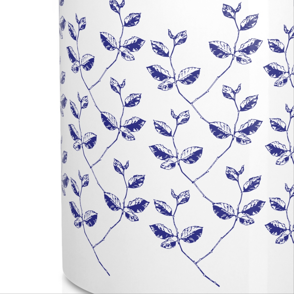 Porcelain Botanical Mugs