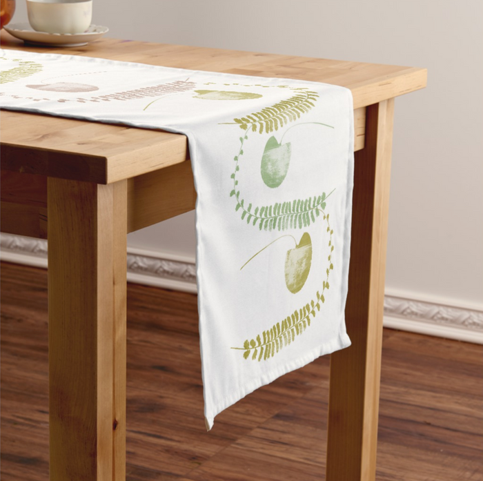 Fern themed Table Runner