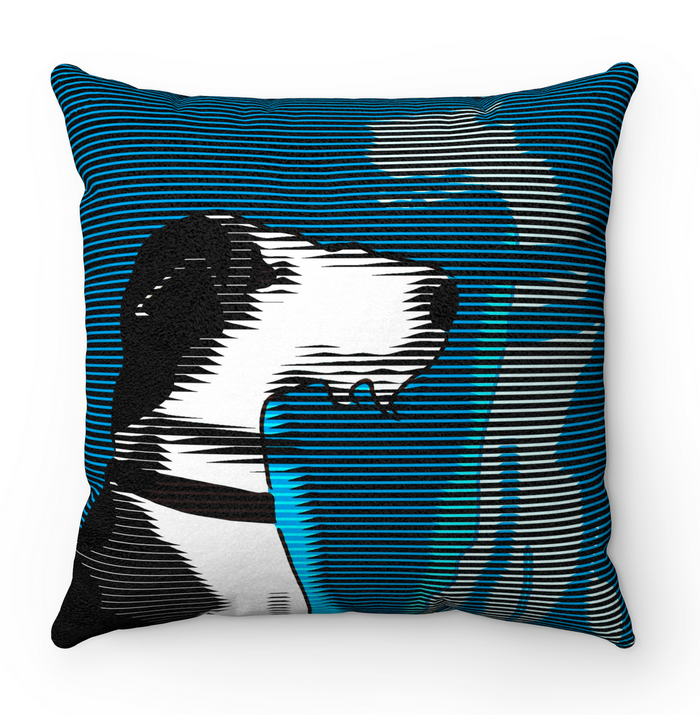 Wire Fox Terrier Scatter Cushion - Pop Art Style