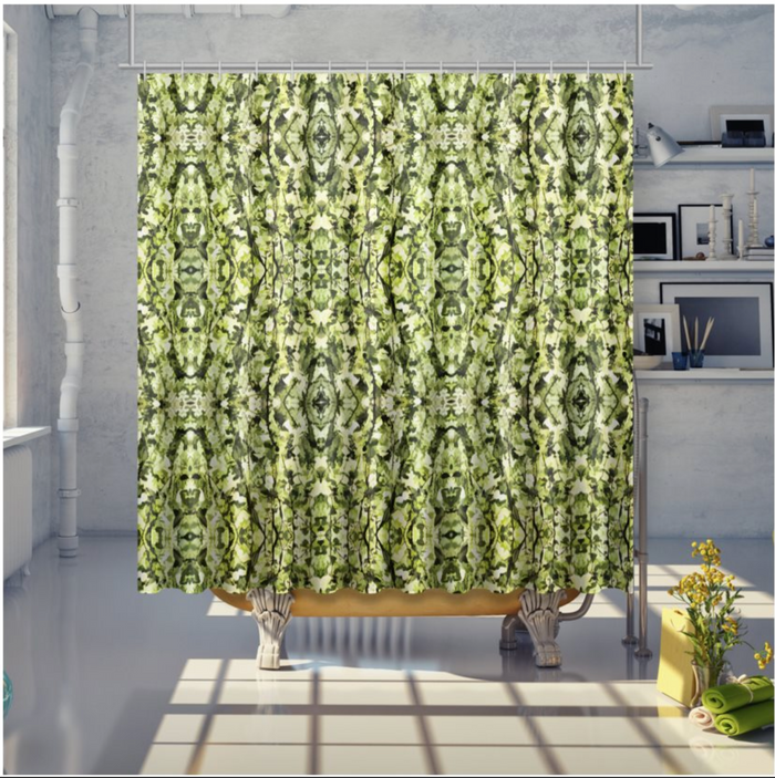 Spring Canopy Shower Curtain