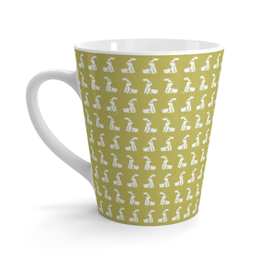 Oak Yellow Foxy Latte mug