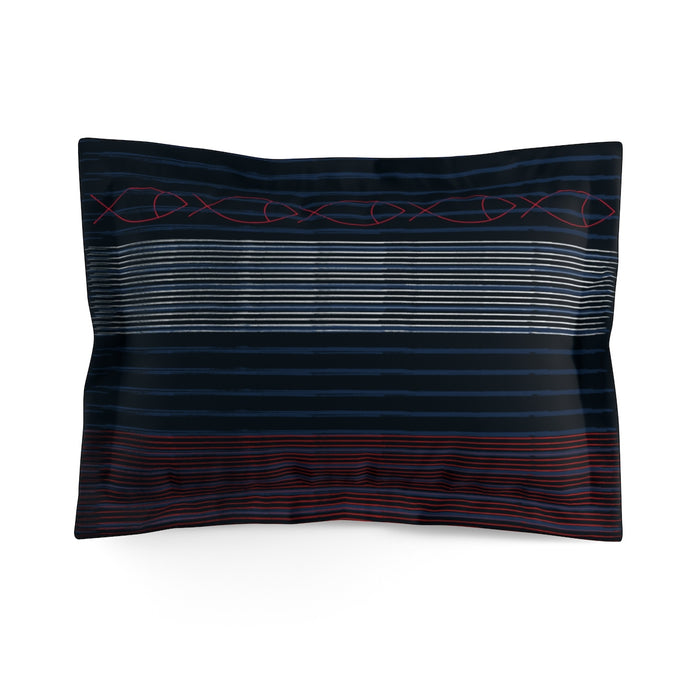 Gentleman Stripe Pillow Sham