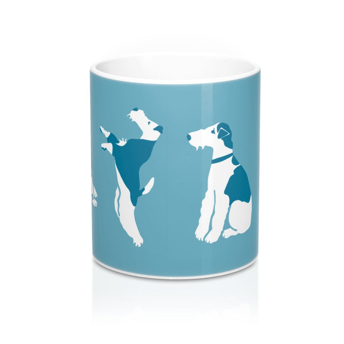 Wire Fox Terrier - Travel Themed Mug